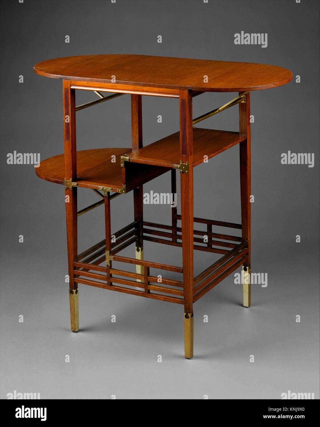 Table de nuit. Designer: Edward William Godwin (1833-1886); Date: ca. 1872; Culture: Photo Stock