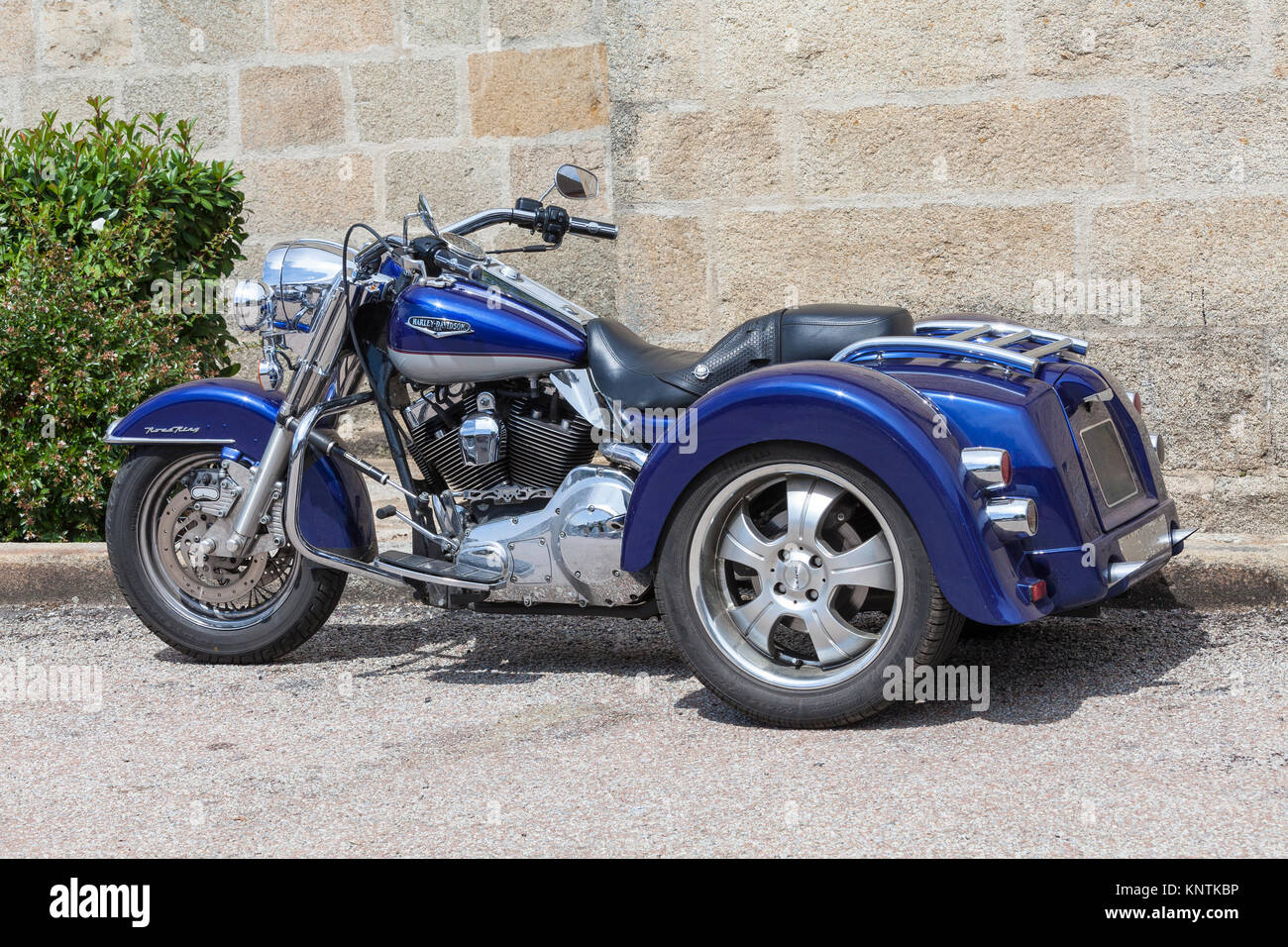 harley davidson trike photos harley davidson trike images alamy. Black Bedroom Furniture Sets. Home Design Ideas