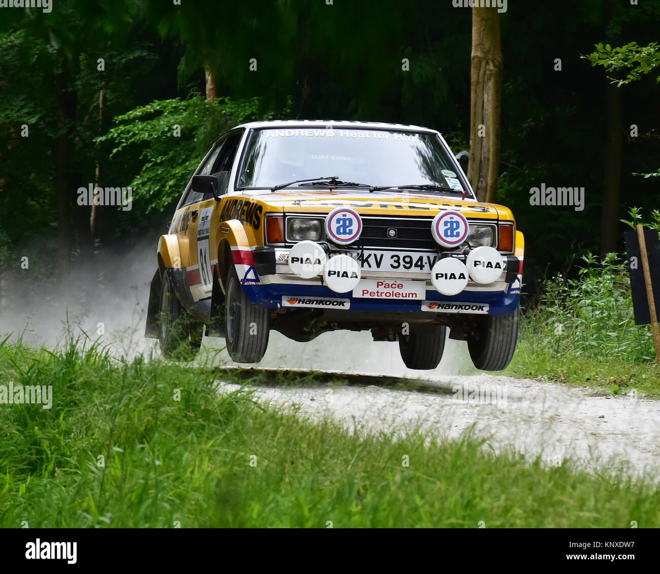 Robin Eyre-Maunsell, Talbot Sunbeam Lotus, KKV 394 V, Forest rally, Goodwood FoS 2015, 2015, Classic, poussières, Banque D'Images