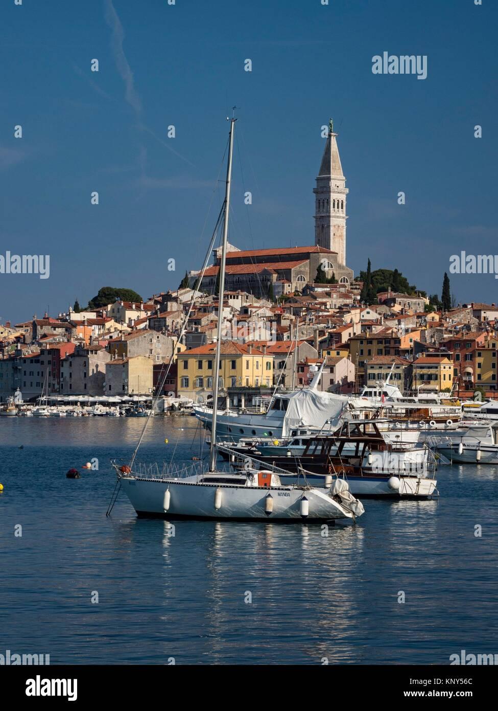 Rovinj Croatie Mer. Photo Stock