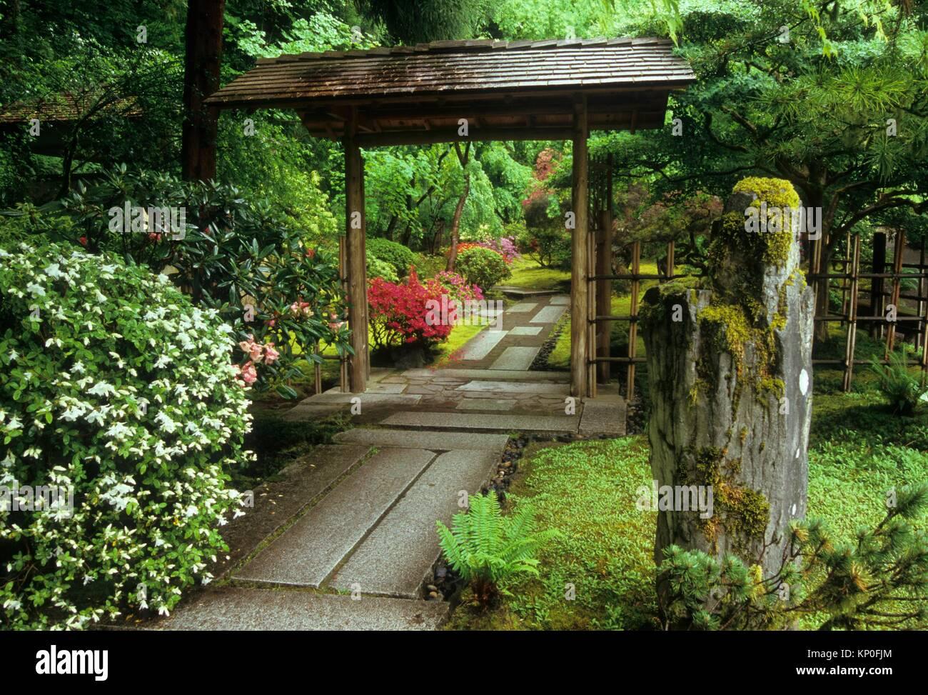 Jardin Japonais De Portland Photos & Jardin Japonais De ...