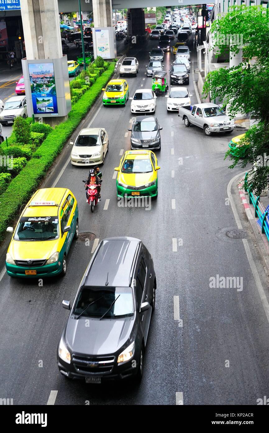 Ploenchit Road, Bangkok, Thaïlande. Photo Stock