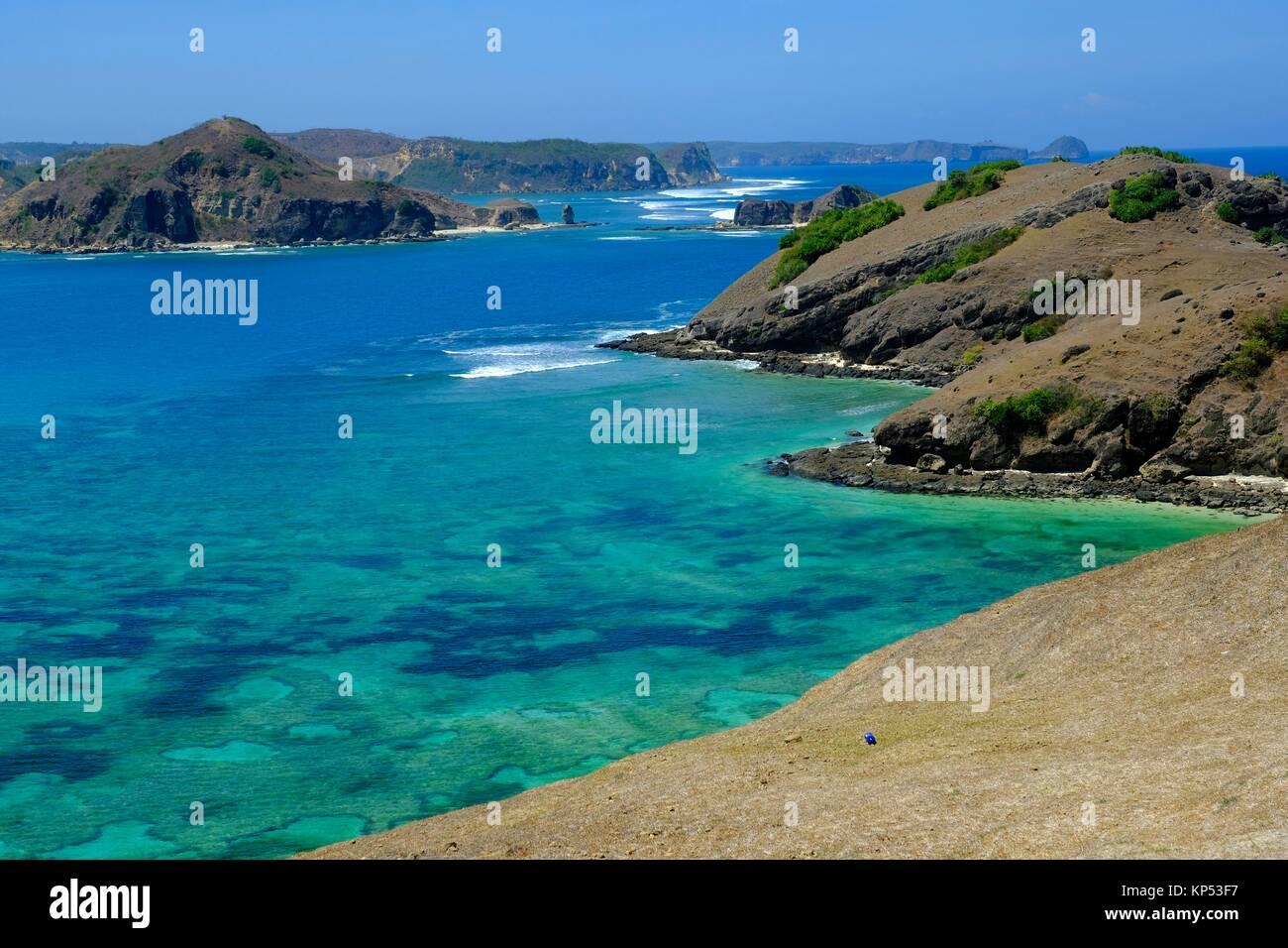 L'île de Lombok, Indonésie, Asie du sud-est. Photo Stock