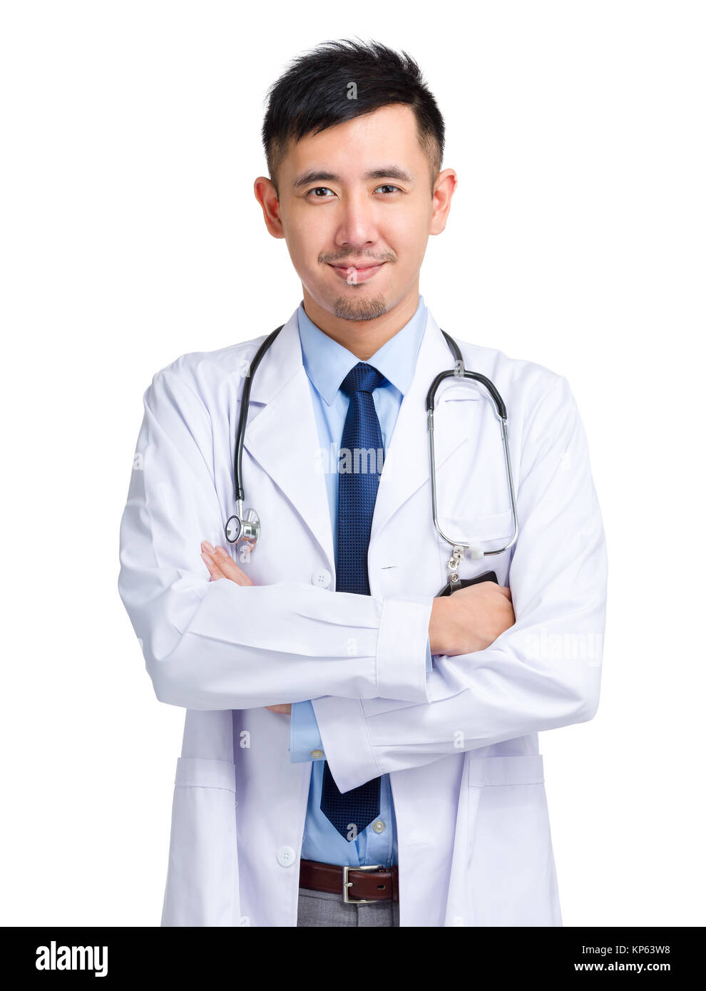 Docteur asiatique Photo Stock