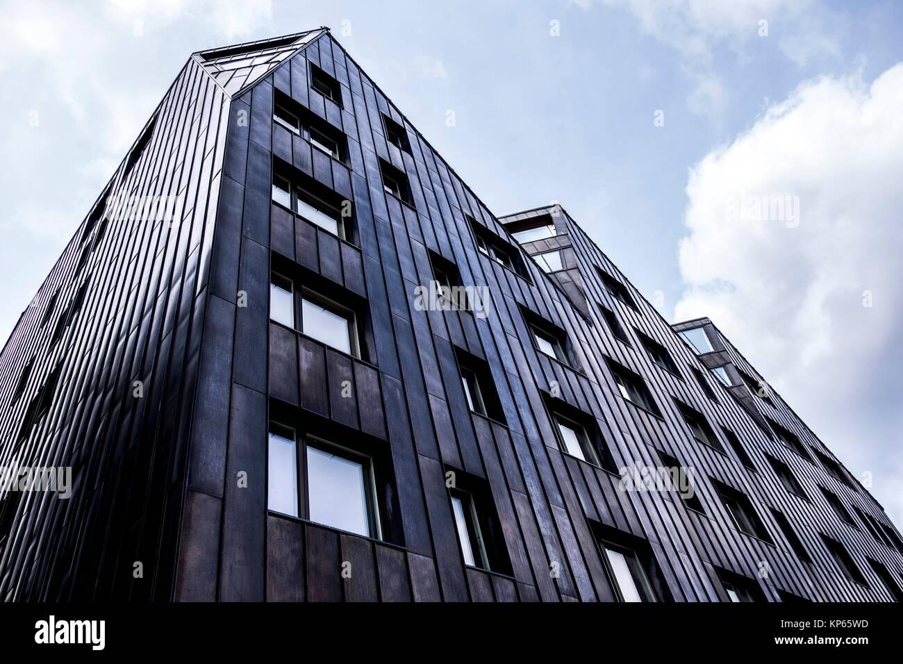 l 39 architecture moderne nouvellement construit tallinn estonie europe banque d 39 images photo. Black Bedroom Furniture Sets. Home Design Ideas