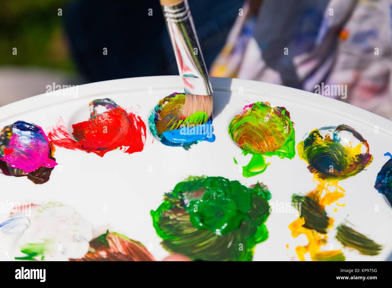farben mischen photos & farben mischen images - alamy