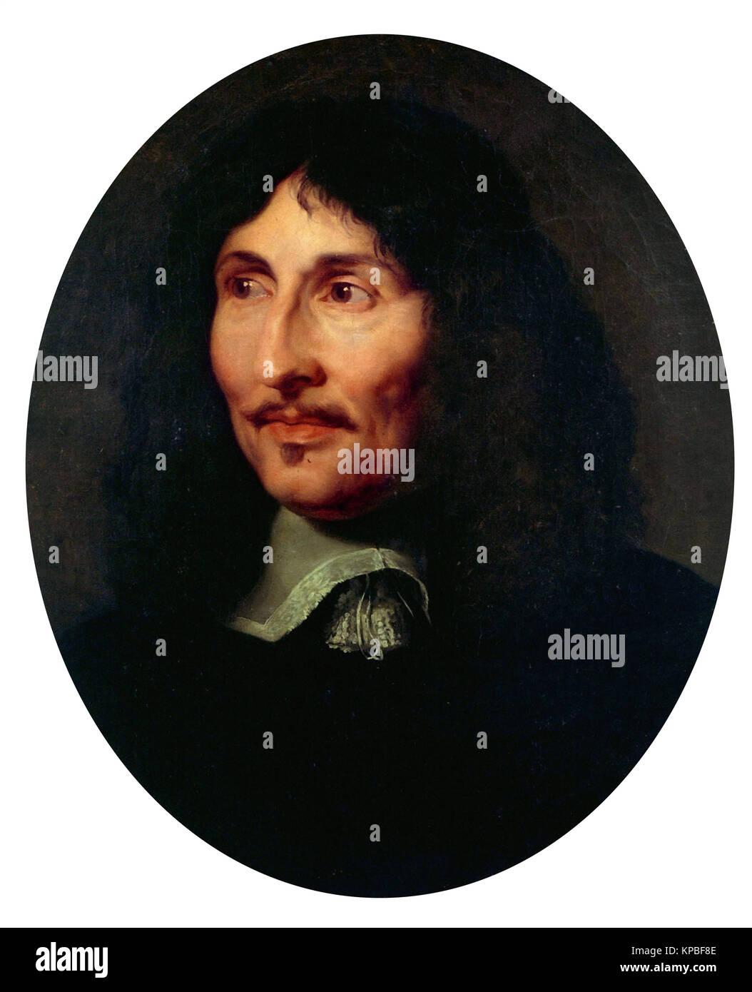Claude Lefebvre - Portrait de Jean Baptiste Colbert Banque D'Images