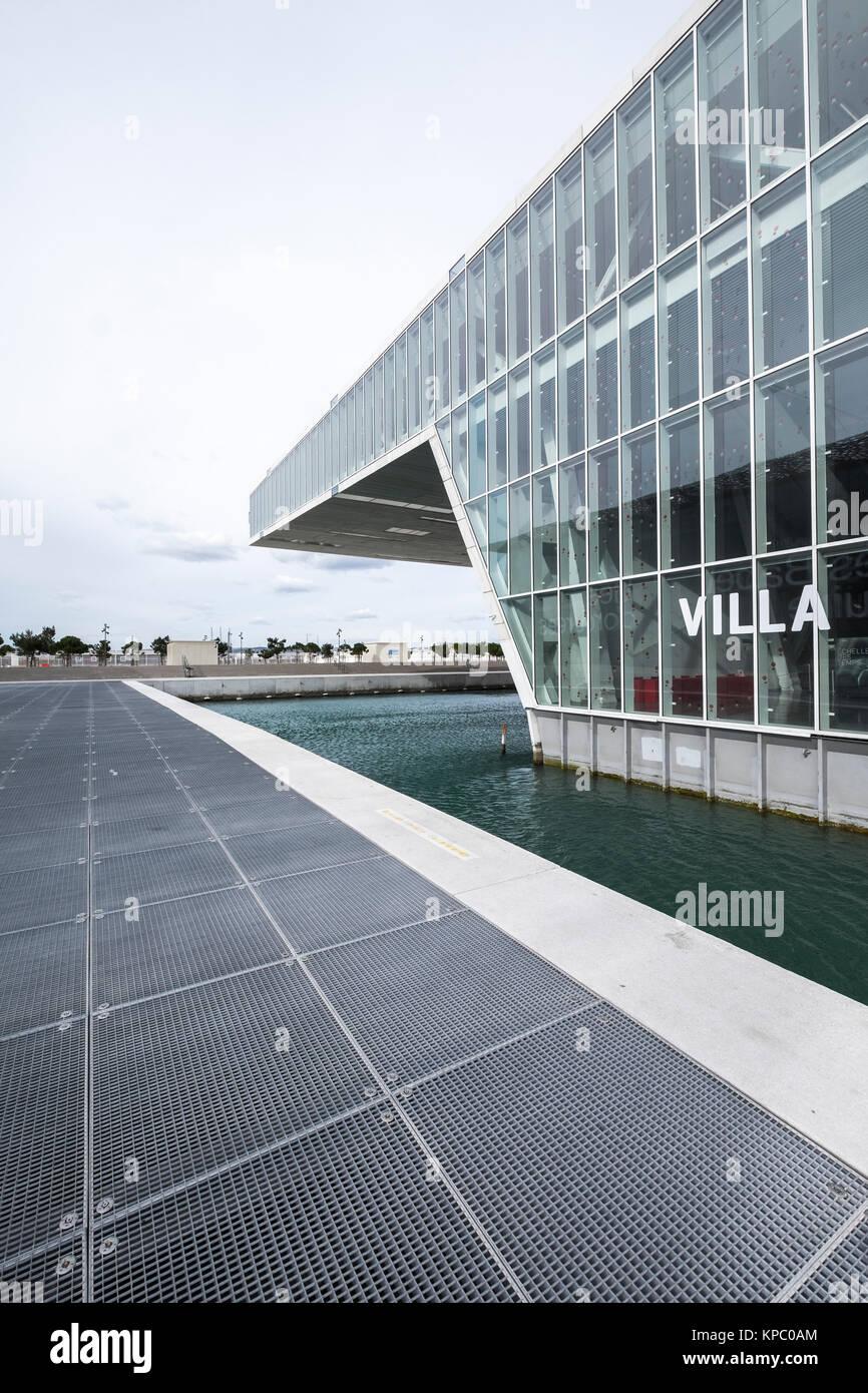 Marseille, France - le 6 mars 2017: l'architecture moderniste de la Villa Florida Conference Center conçu par Stefano Banque D'Images