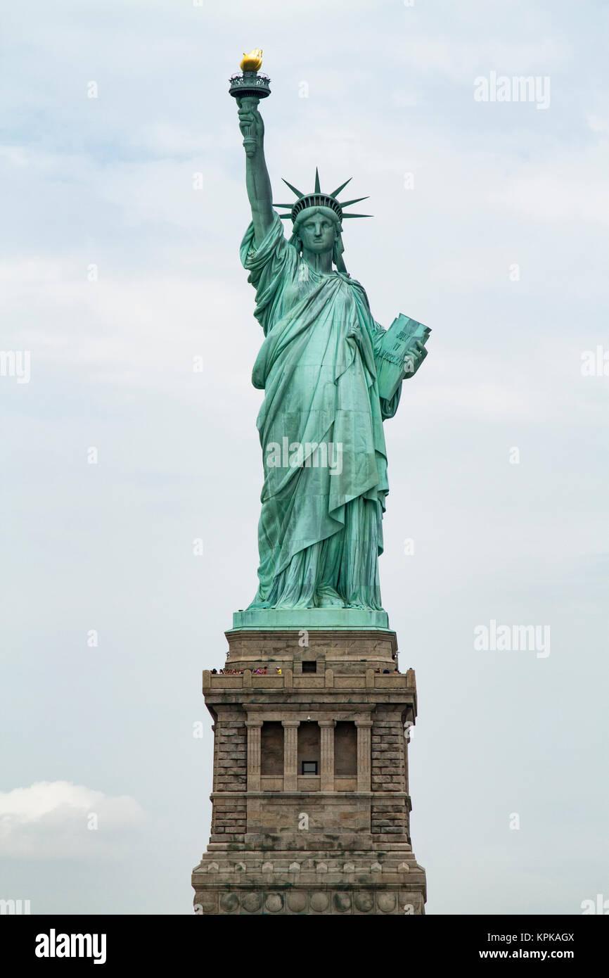 Statue de la Liberté à New York City, New York. Photo Stock