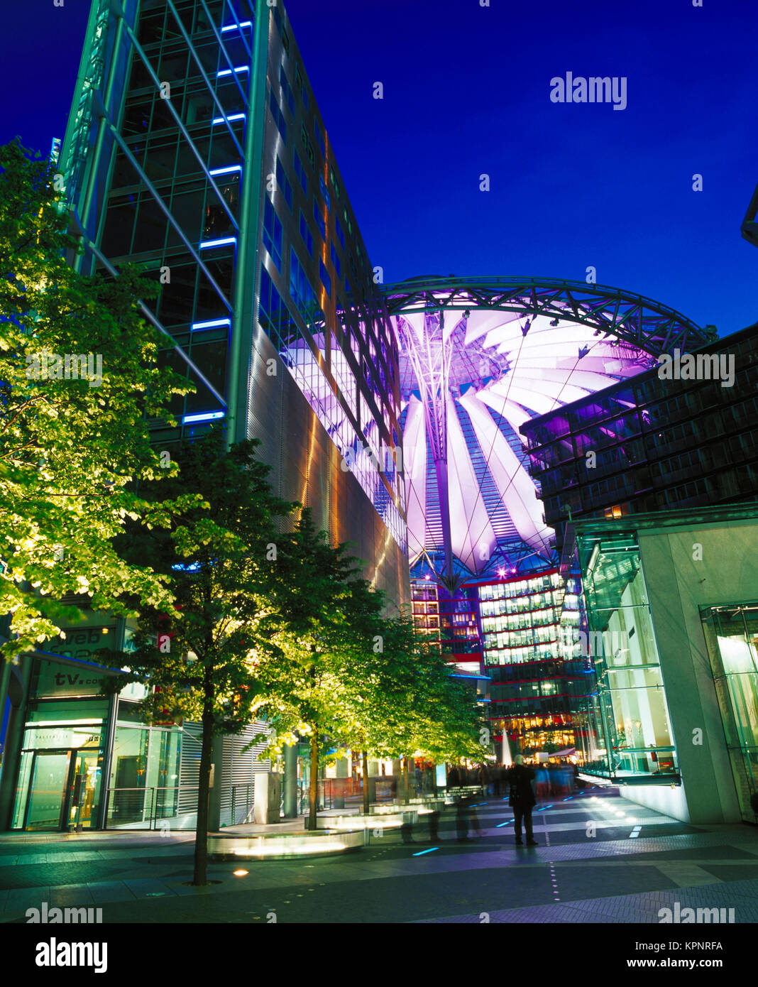 La Potsdamer Platz, Berlin, Allemagne Photo Stock