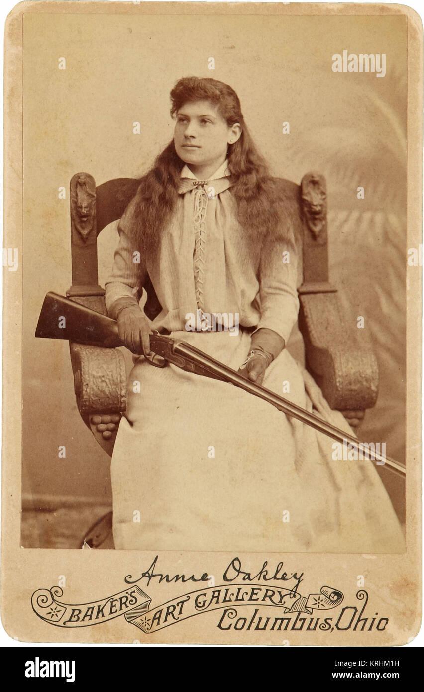 Annie Oakley Banque D'Images