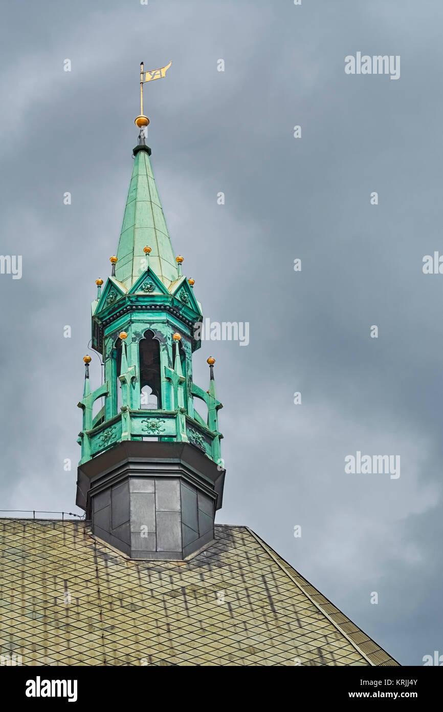 Clocher de l'église Banque D'Images
