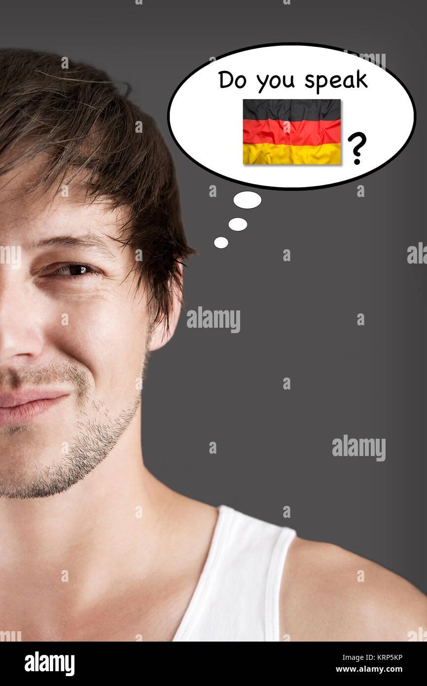 Parlez-vous allemand? Photo Stock