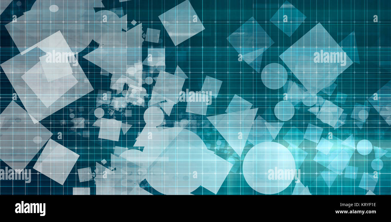 Abstract Data Photo Stock