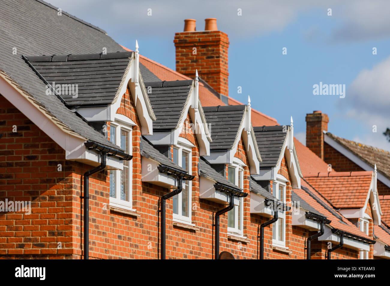 Toit De Maison Moderne Et Fenêtre Détail UK