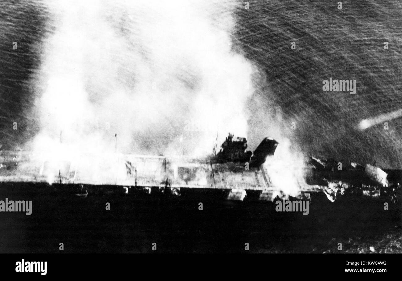Bataille de midway du 3 au 7 juin 1942 porte avions - Porte avion japonais seconde guerre mondiale ...