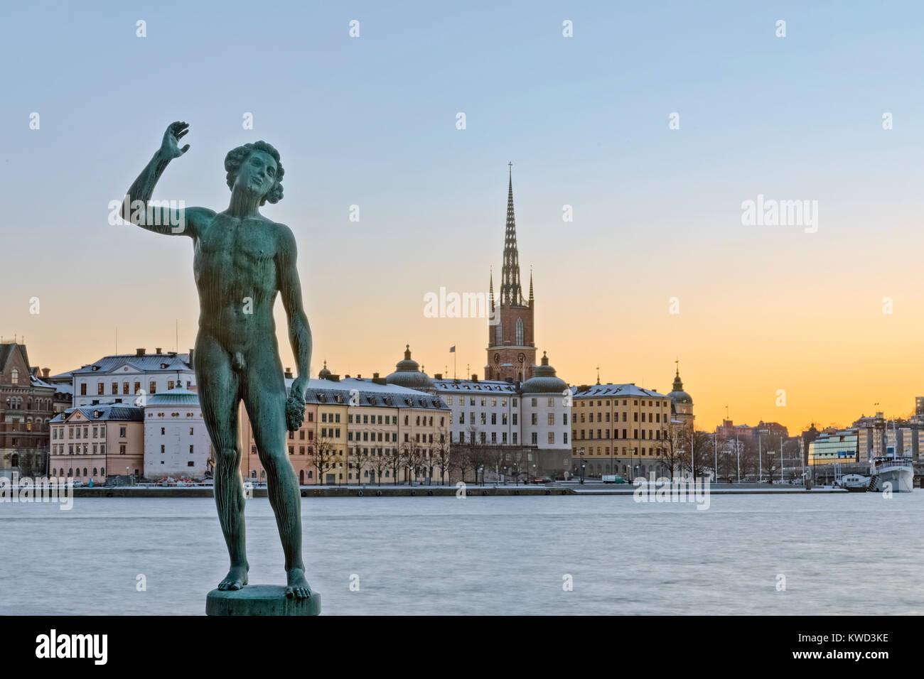 Gamla Stan, Stockholm, Suède, Europe Photo Stock