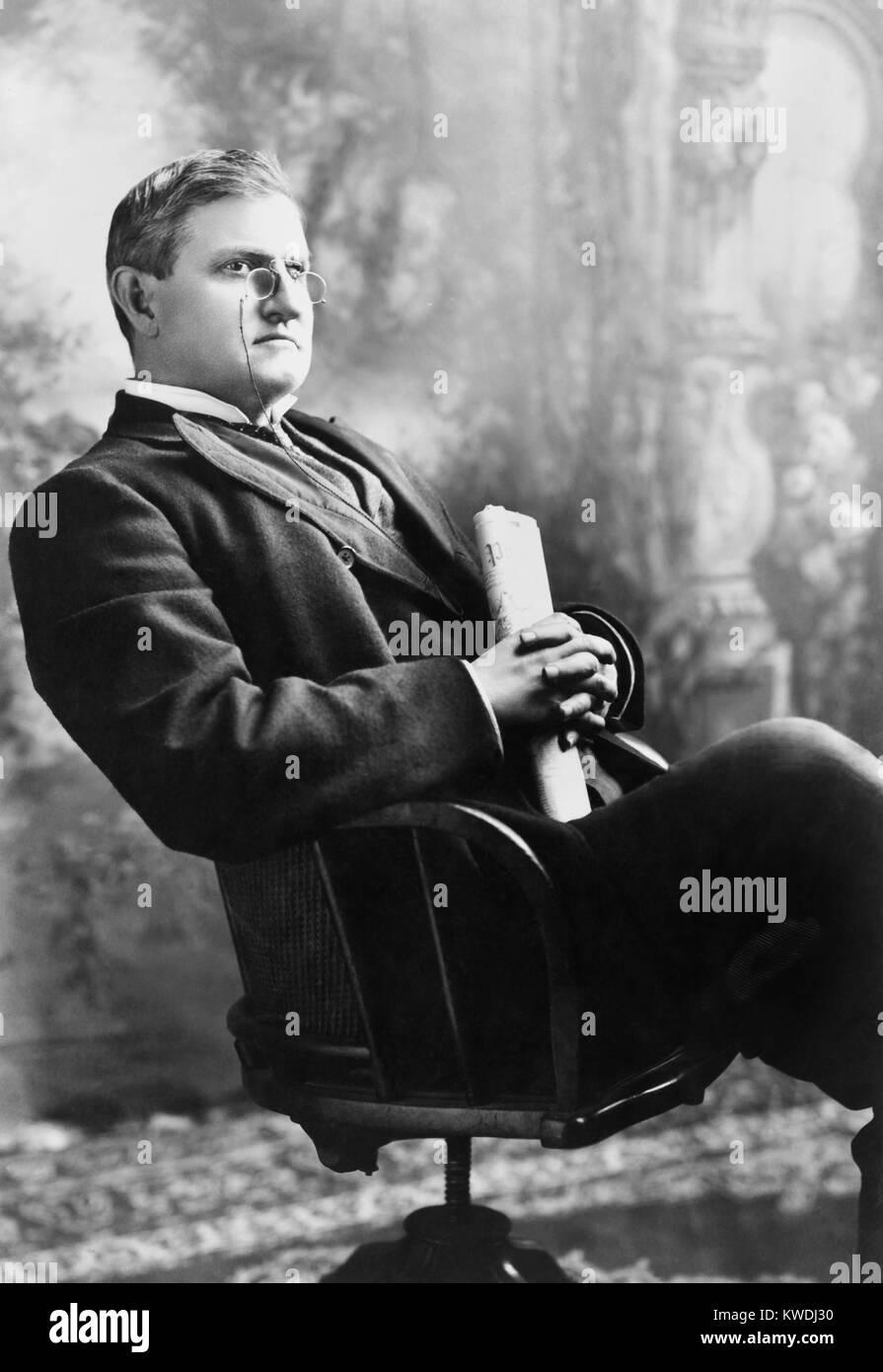 Le sénateur de la Caroline du Sud Benjamin Ryan Tillman, ch. 1905. Il est venu de l'âge au cours de la guerre civile Banque D'Images