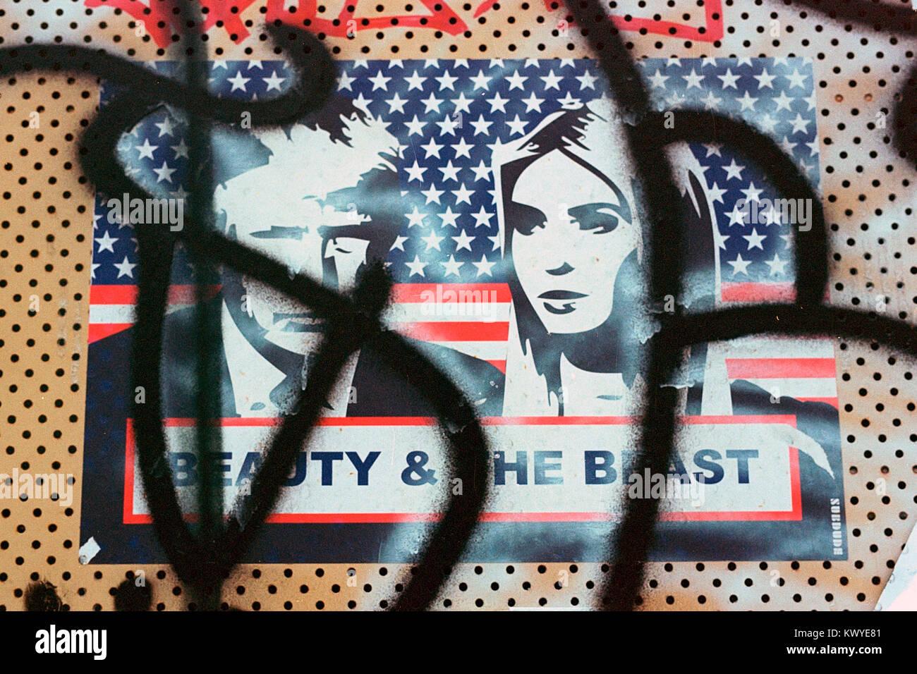 street art poster photos & street art poster images - alamy