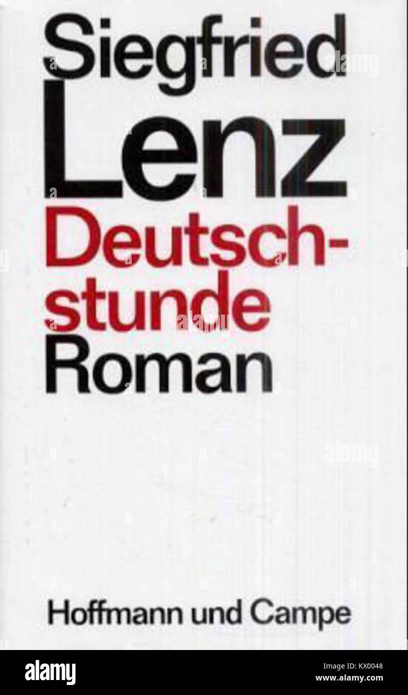 Siegfried Lenz, Deutschstunde 1968 Banque D'Images