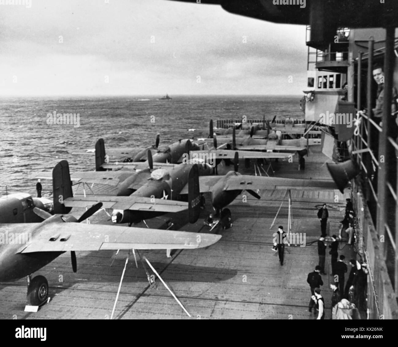 le raid de doolittle sur le japon  18 avril 1942