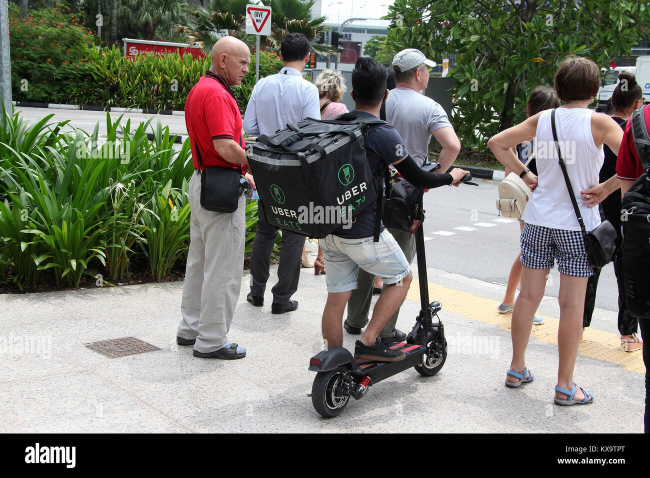 Image result for uber eats electric scooter