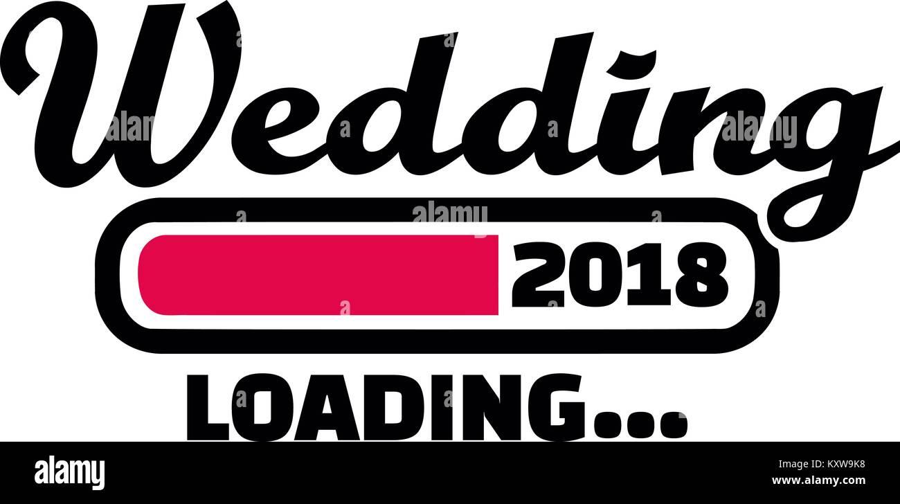 Barre de chargement pour mariage future 2018
