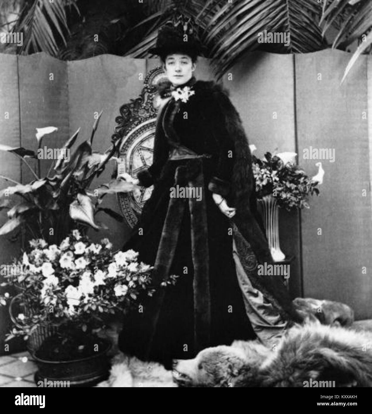 Ettie Fane par Lord Battersea (il est mort 1907) Banque D'Images