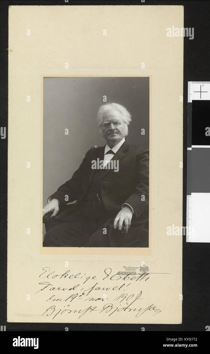 Portrett Bjørnstjerne Bjørnson, ca av. 1906 - no-nb digifoto blds 2016042100004 08235 Photo Stock