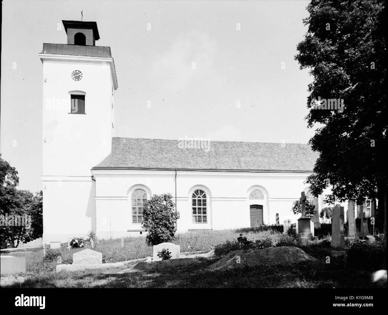 Rådmansö kyrka - KMB - 16000200127770 Banque D'Images