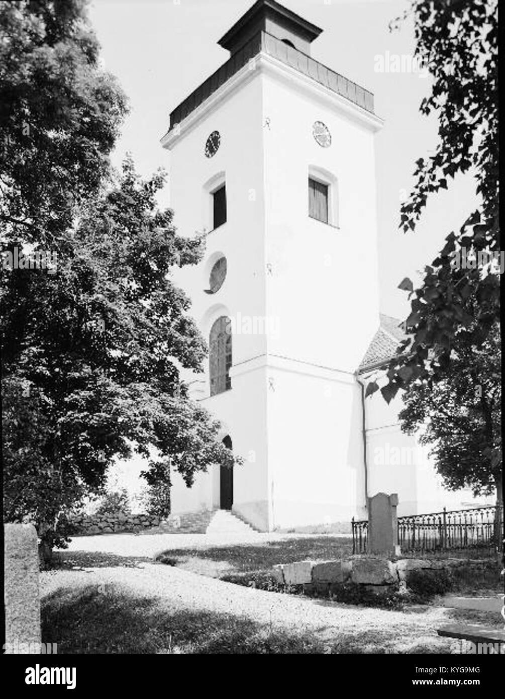 Rådmansö kyrka - KMB - 16000200127778 Banque D'Images