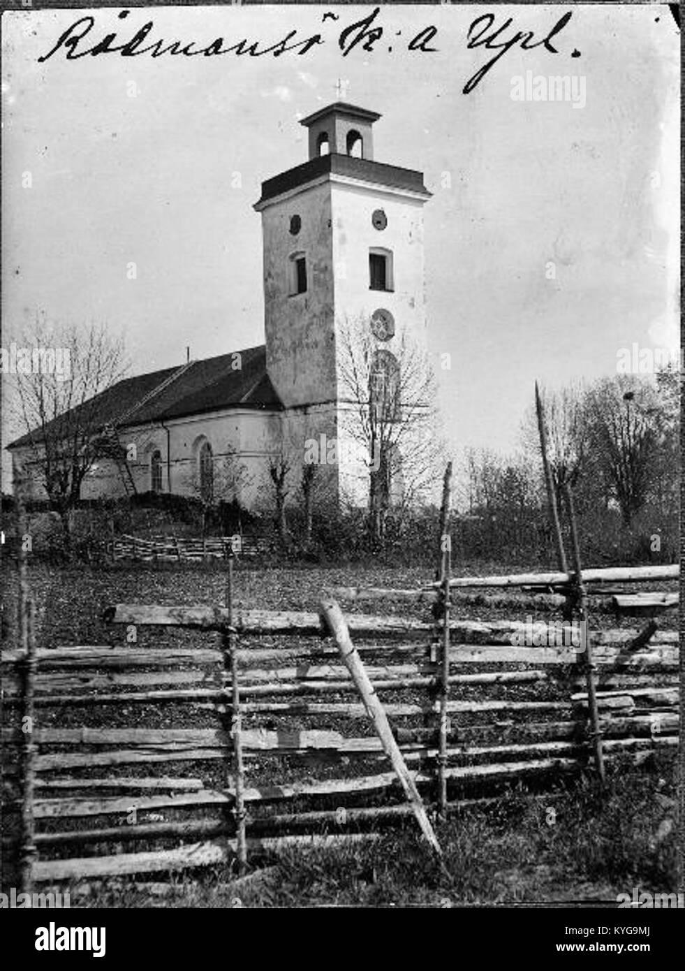 Rådmansö kyrka - KMB - 16000200127783 Banque D'Images