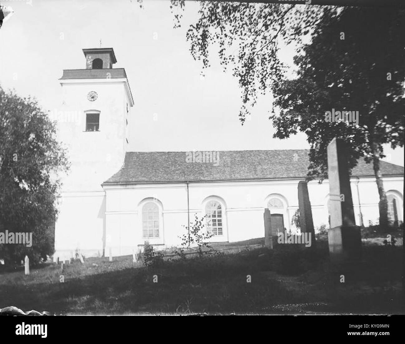 Rådmansö kyrka - KMB - 16000200127790 Banque D'Images