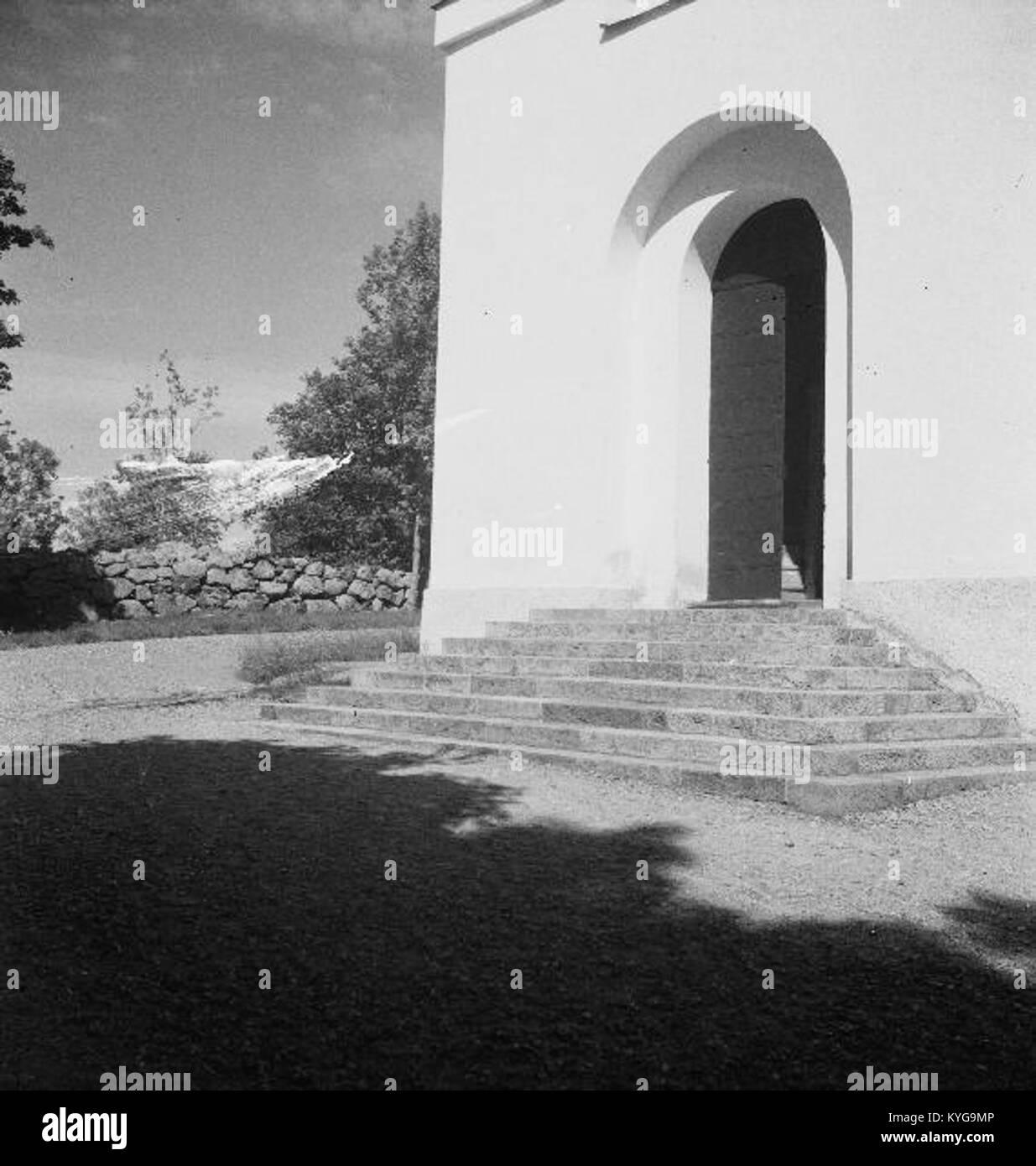 Rådmansö kyrka - KMB - 16000200127792 Banque D'Images