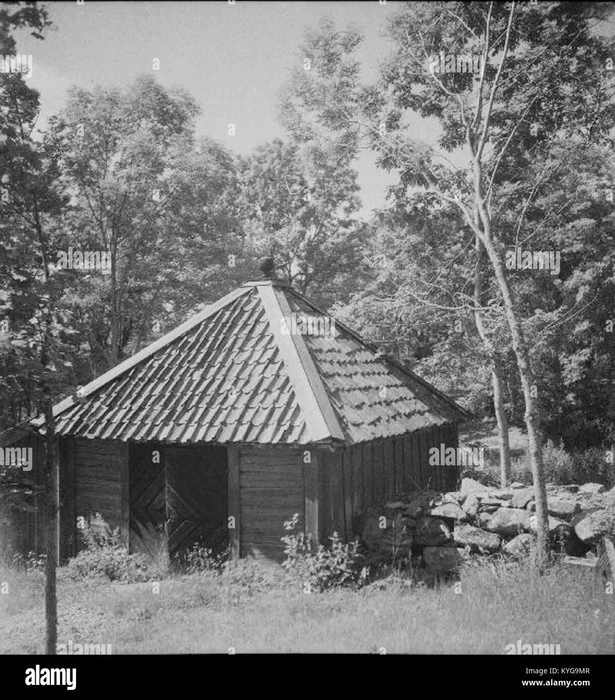 Rådmansö kyrka - KMB - 16000200127794 Banque D'Images