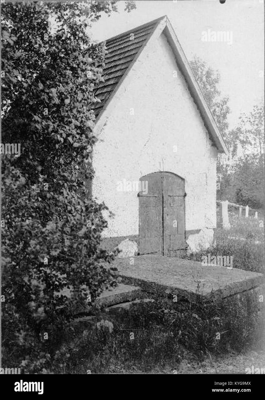 Rådmansö kyrka - KMB - 16000200127799 Banque D'Images