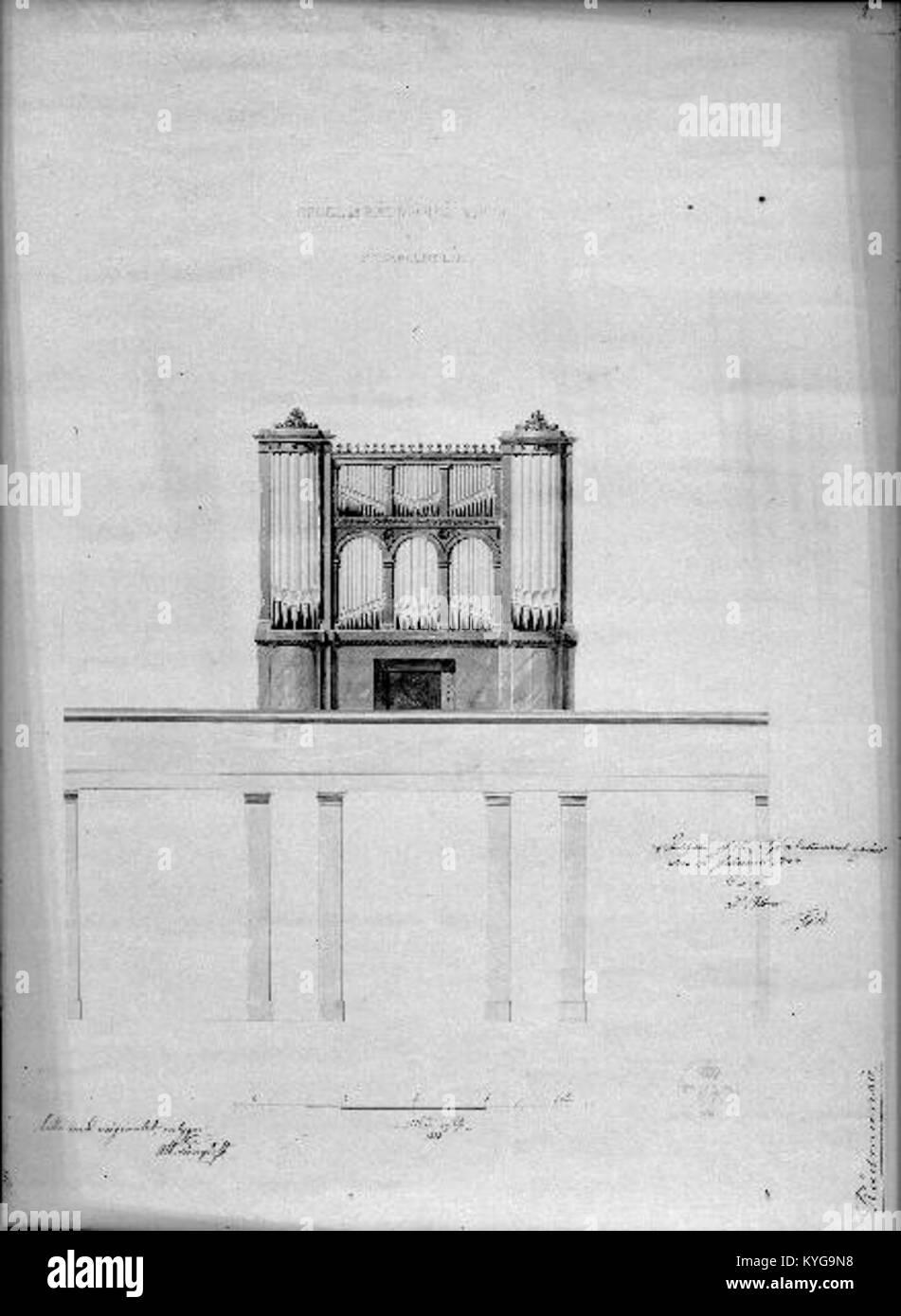 Rådmansö kyrka - KMB - 16000200127816 Banque D'Images