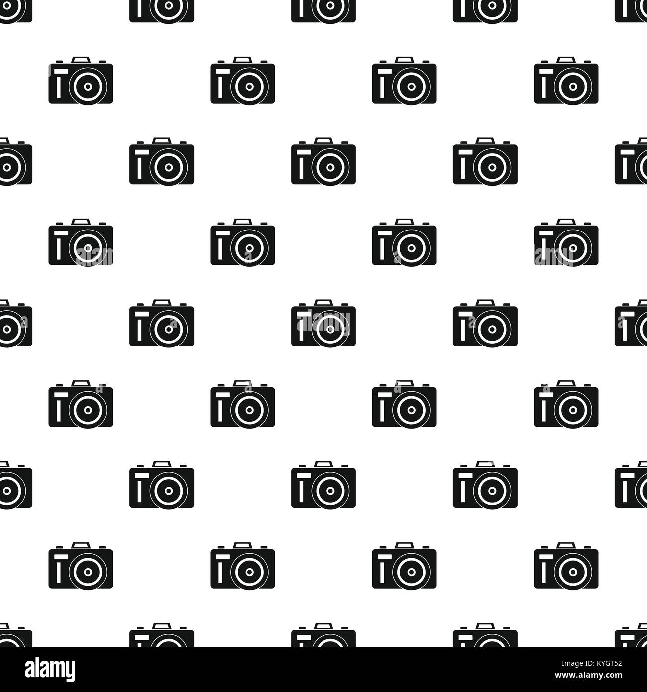 Vector pattern Photocamera Photo Stock