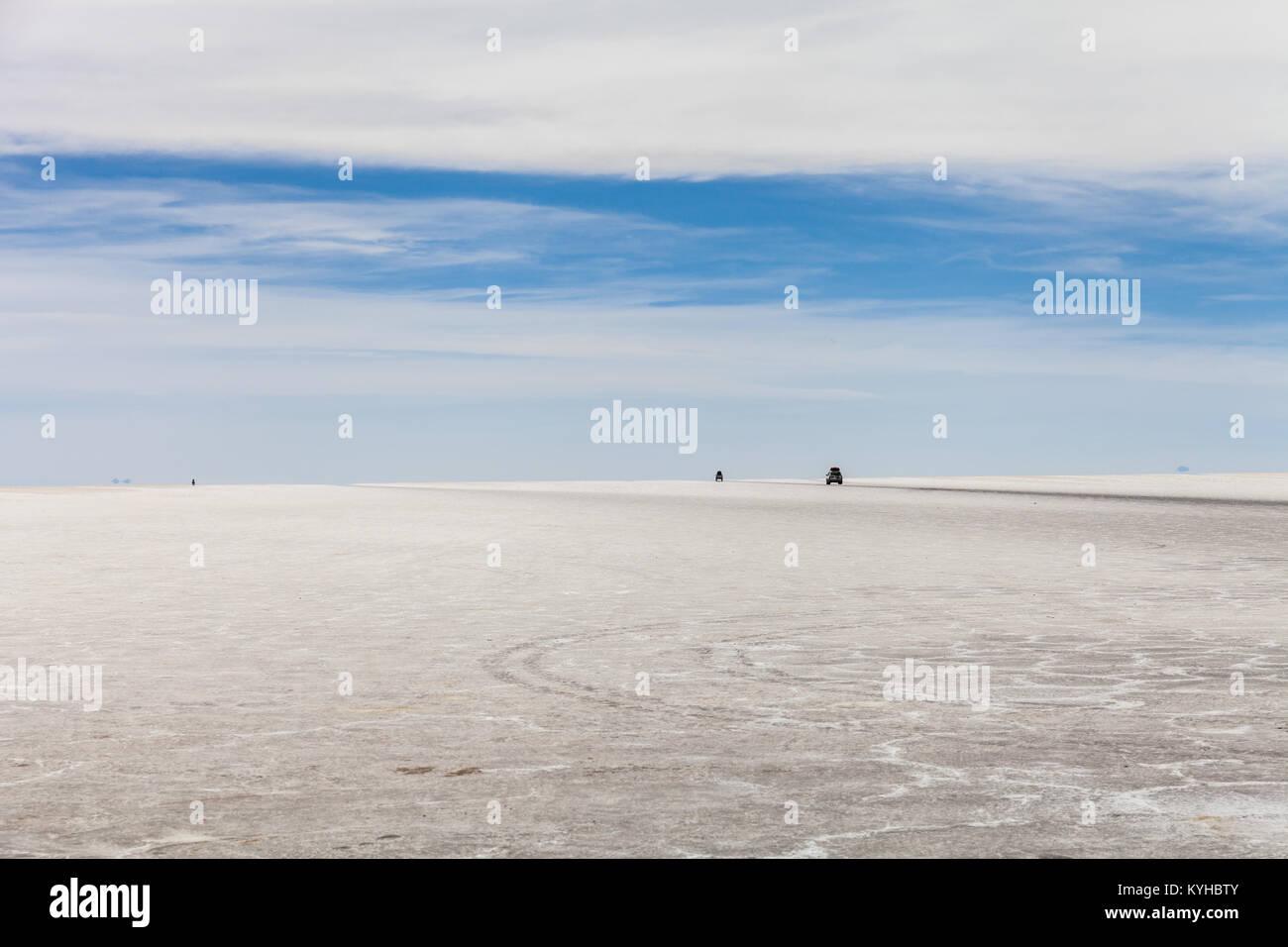 Salar d'Uyuni Photo Stock