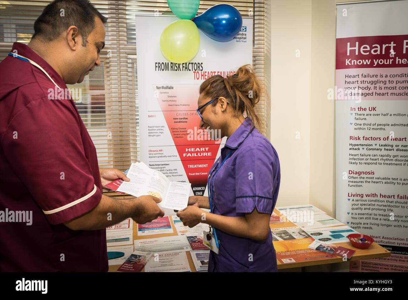 L'hôpital Princess Alexandra, Harlow, soins infirmiers et de sage-femme - pour la journée de formation Photo Stock