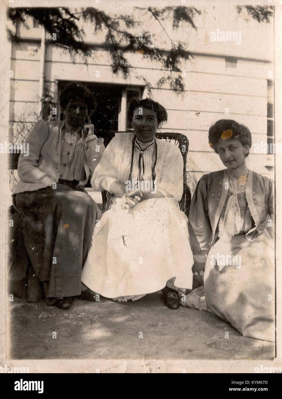 Emmeline Pethick Lawrence, Constance Lytton et un autre o 38478081041 Banque D'Images