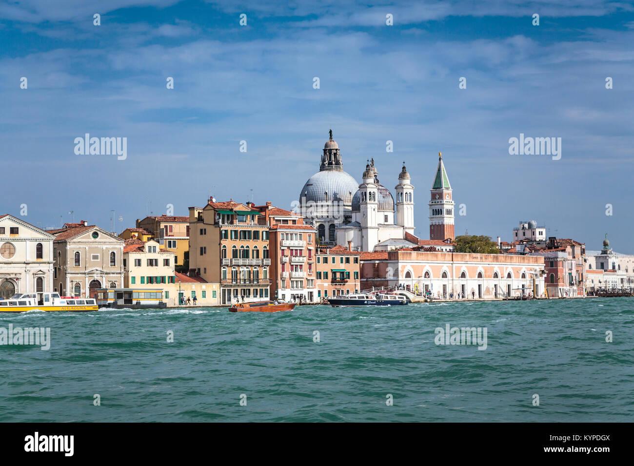 La Sainte Marie de l'église du Rosaire en Vénétie, Venise, Italie, Europe. Photo Stock