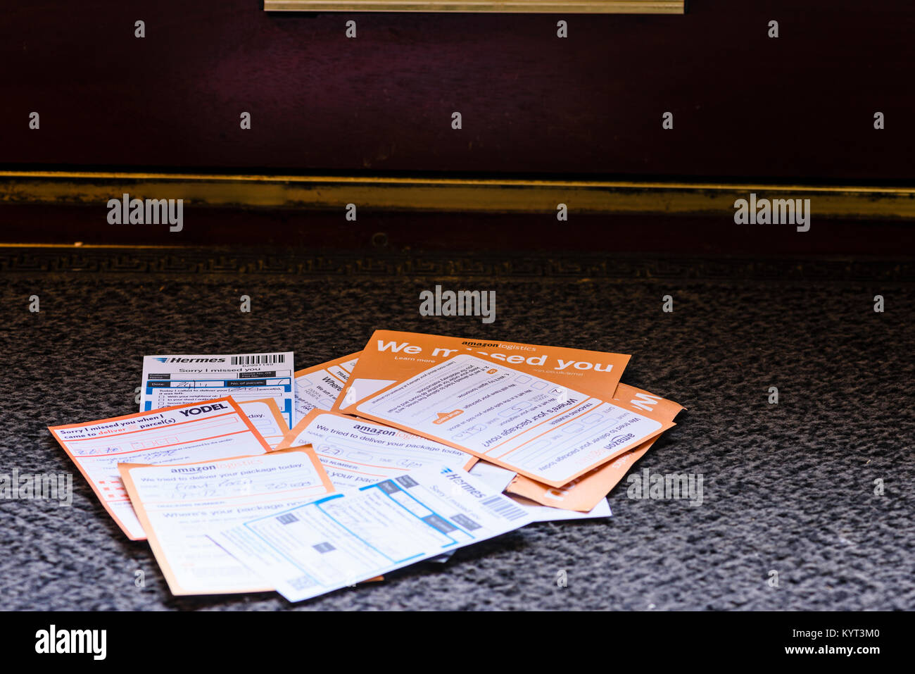amazon prime delivery photos & amazon prime delivery images - alamy