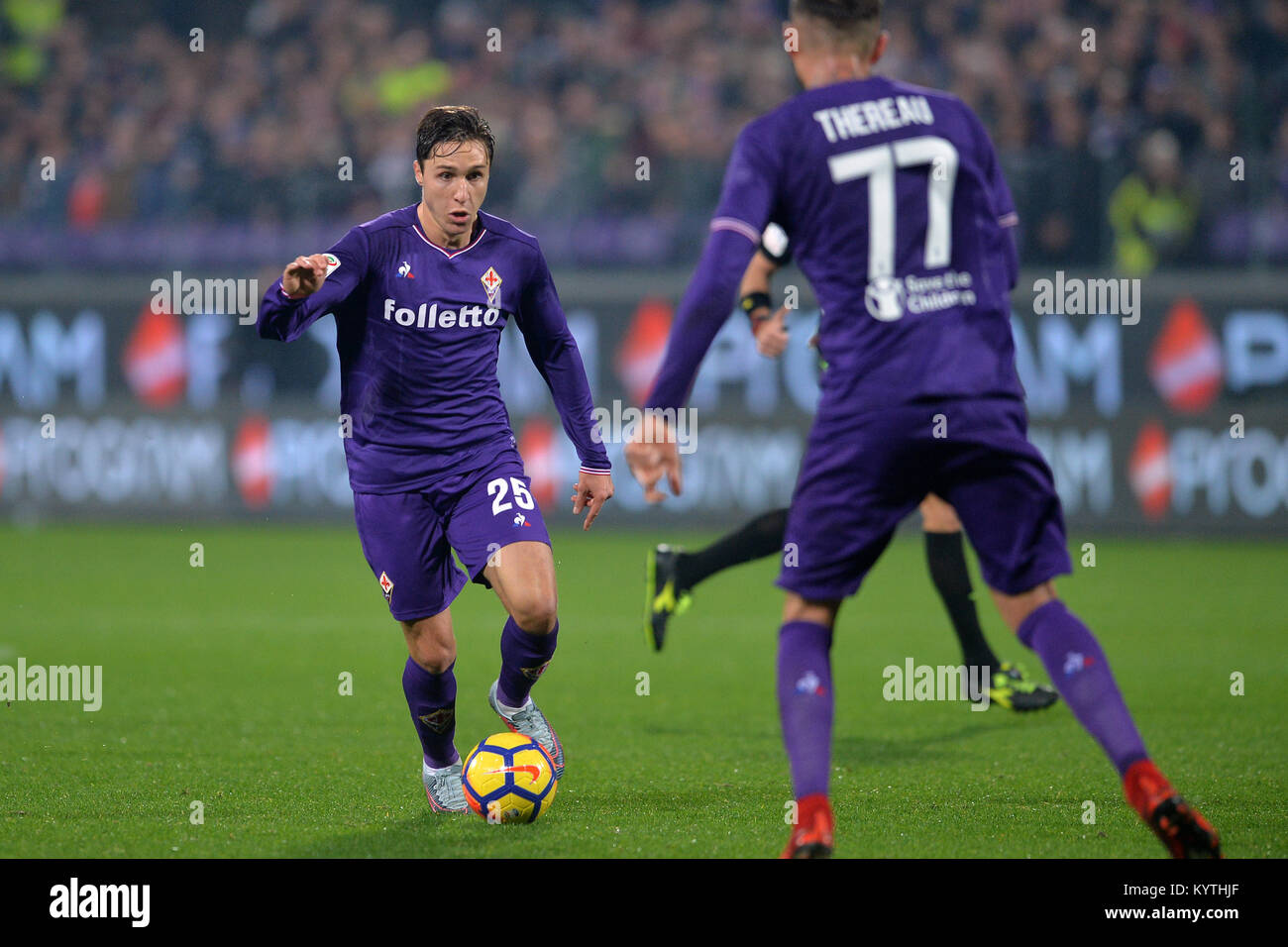 Maillot Domicile Fiorentina CYRIL THEREAU