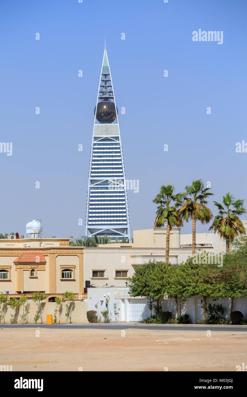 Al Faisaliyah Tower à Riyadh Photo Stock