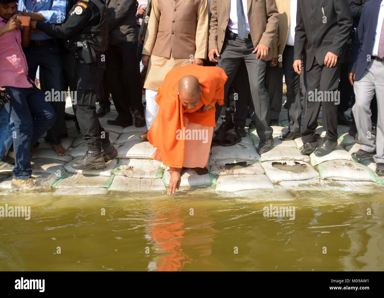 Allahabad Uttar Pradesh Inde 19 Jan 2018