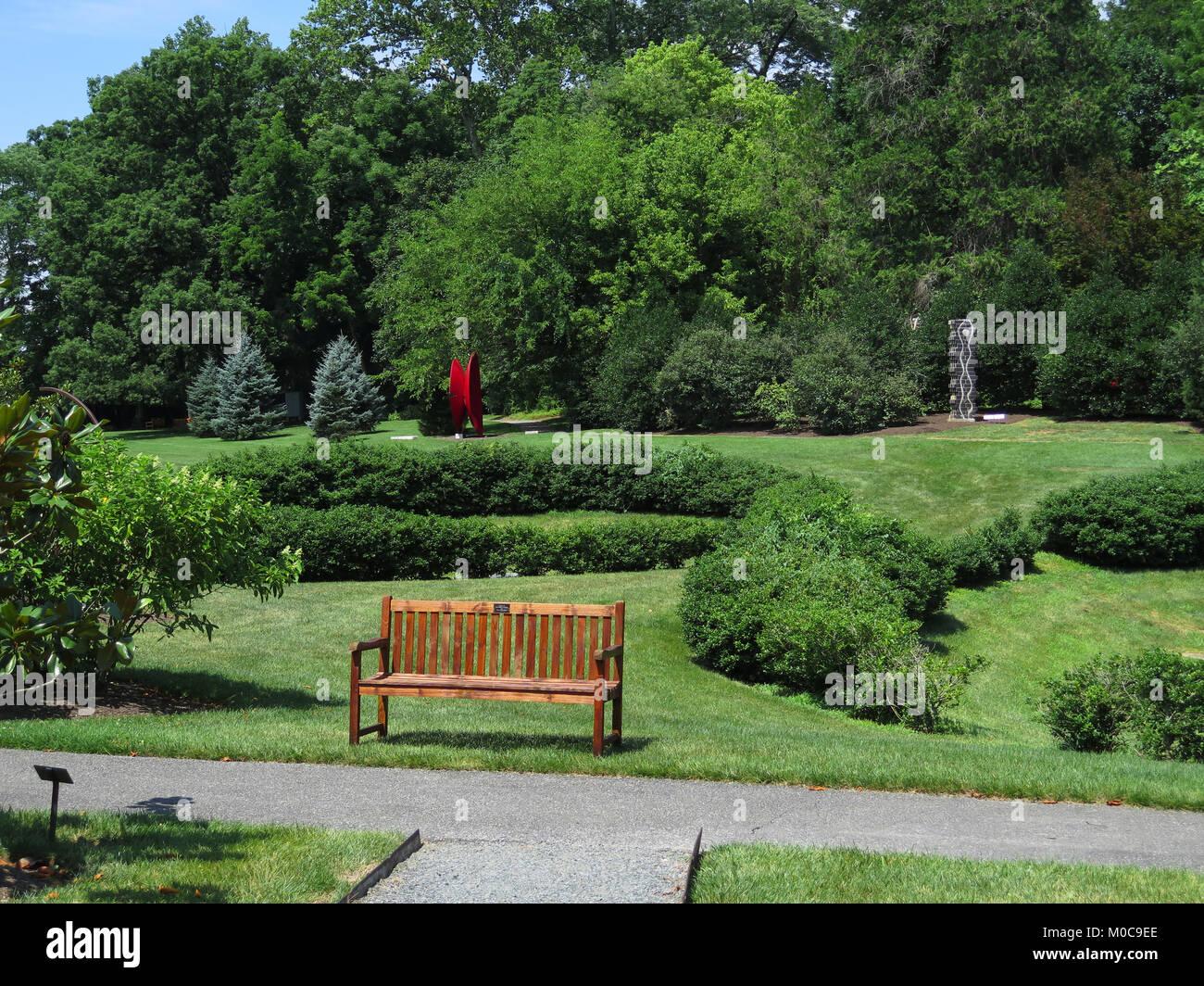 Delaware Art Museum, Wilmington, Delaware, art, sculpture, Parc. Jardin de sculptures, l'art, d'illustration Photo Stock