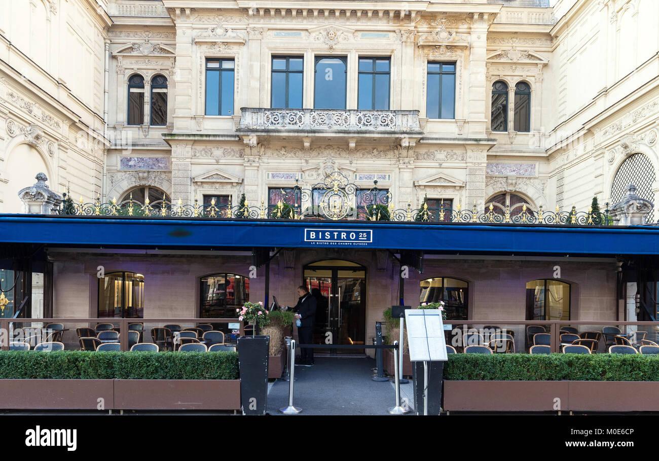 la tradition française un café bistro 25 sur l'avenue des champs