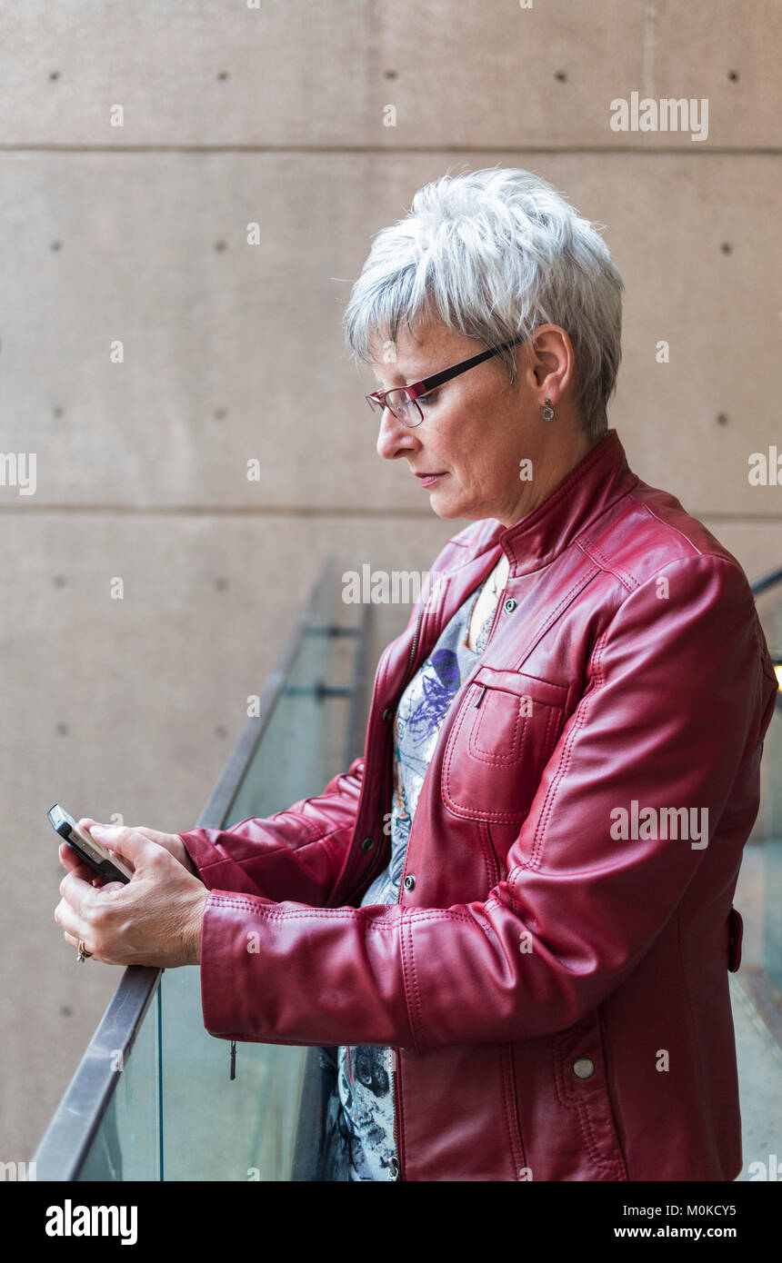 amp; Red Photos Jacket Leather Alamy Images Snq4H6