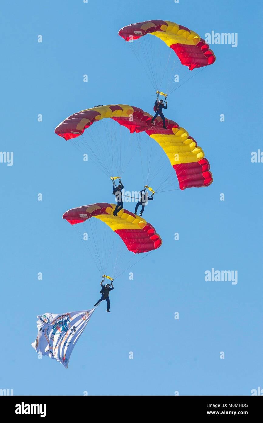 parachutisme espagne